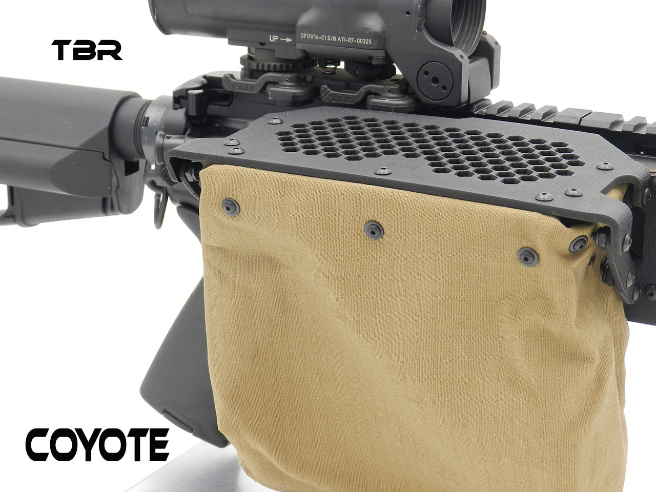 Operator for SIDE CHARGER type rifles brass catcher