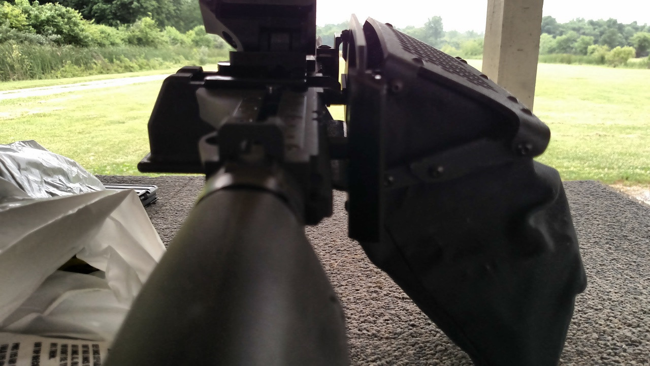 Belt Fed FightLite MCR/SHRIKE/FM-9 Gen 2 Brass Catcher