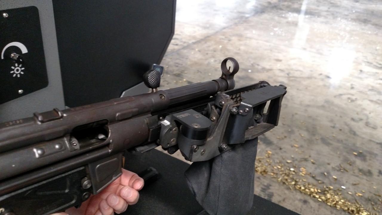shown on MP5.  mp5 brass catcher