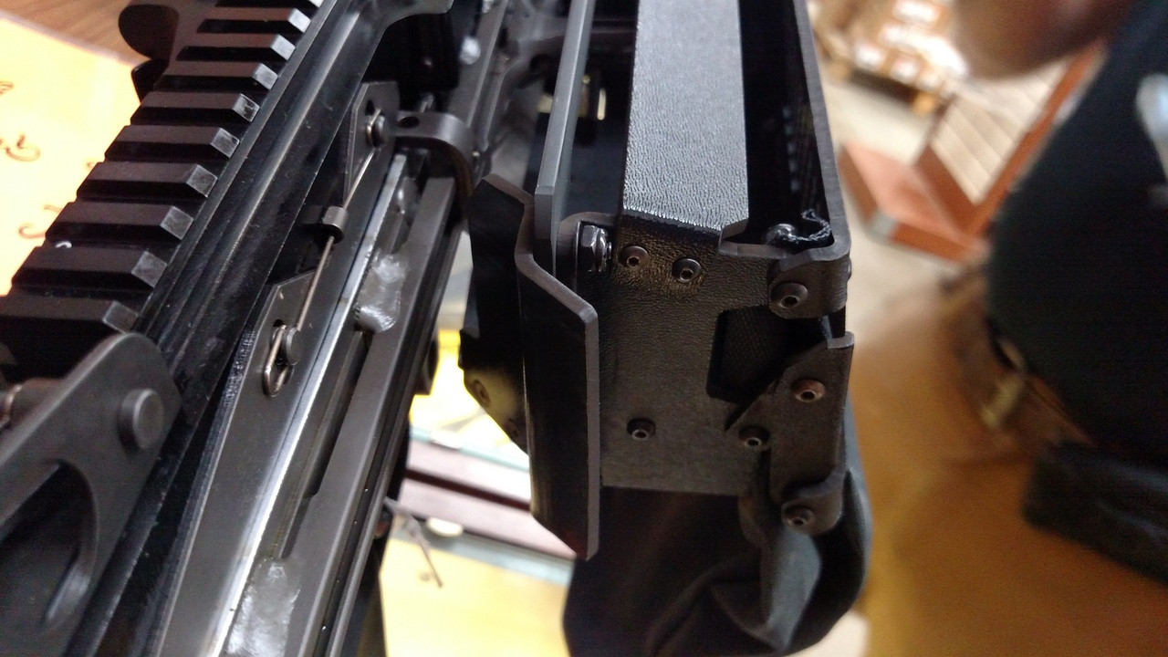 M249 SAW/MK46 High Rail position brass catcher