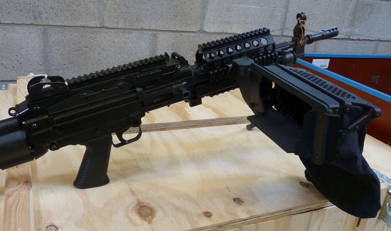 M249 SAW/MK46 High Rail position brass catcher