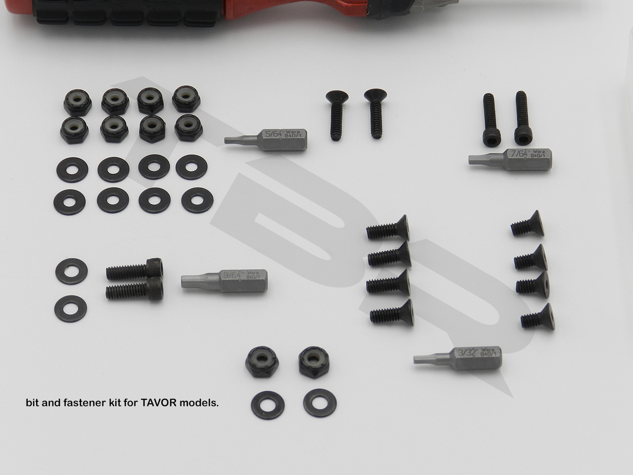 bit and fastener kit for TAVOR models