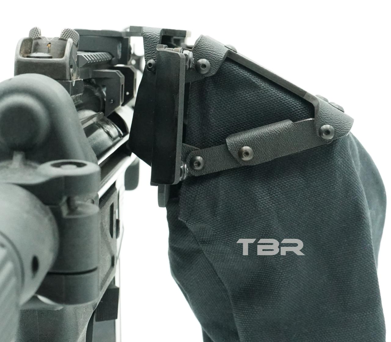 MP5 top mount brass catcher for MFI rails