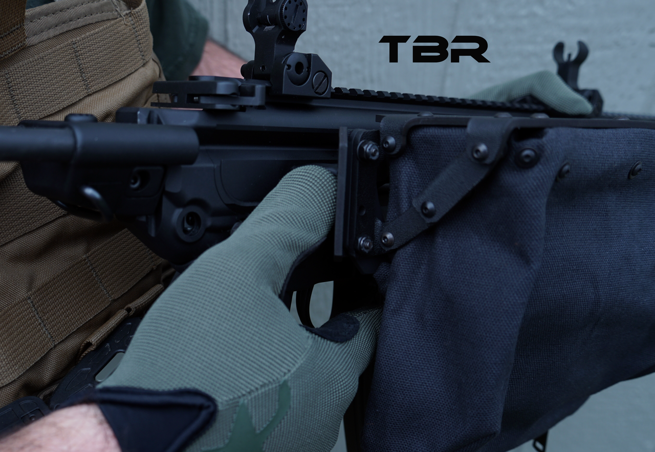 Operator brass catcher MCX with Suppressor Compliant Handguard