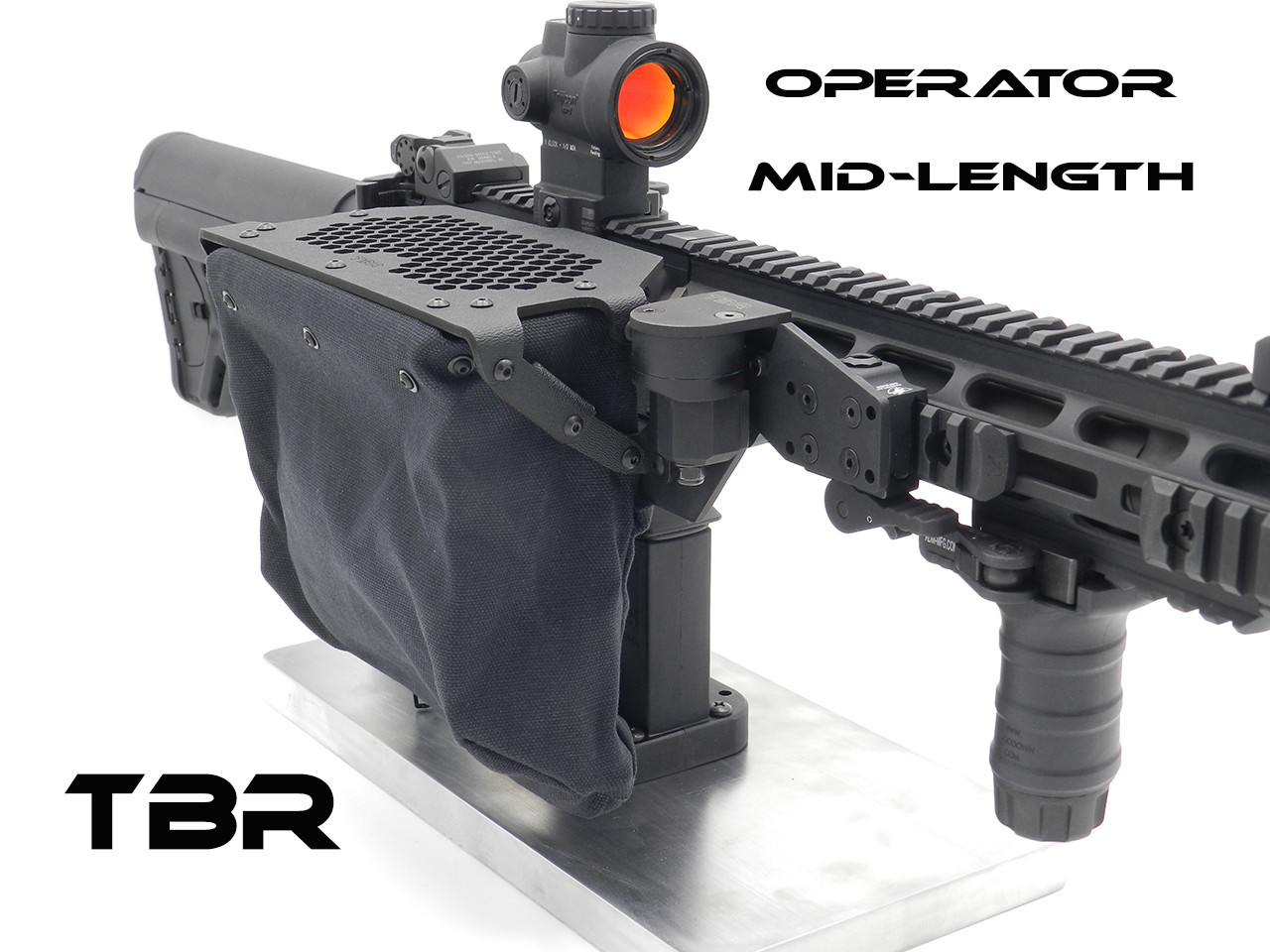 Operator MID Length  AR15/AR10/SCAR 16 brass catcher