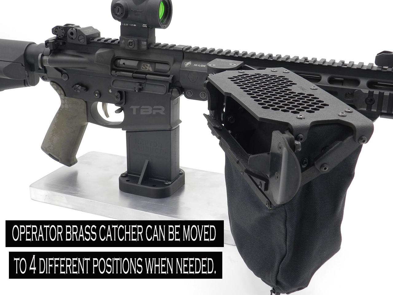 Operator MID Length  AR15/AR10/SCAR 16 brass catcher