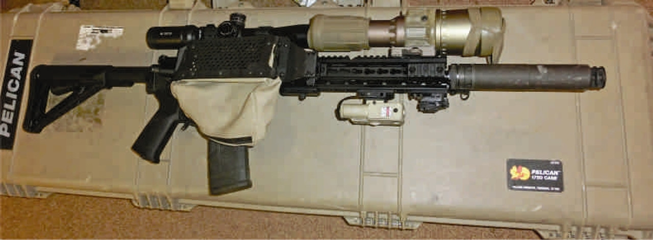 AR15/AR10 Platform Brass Recovery Bag (Standard Issue)