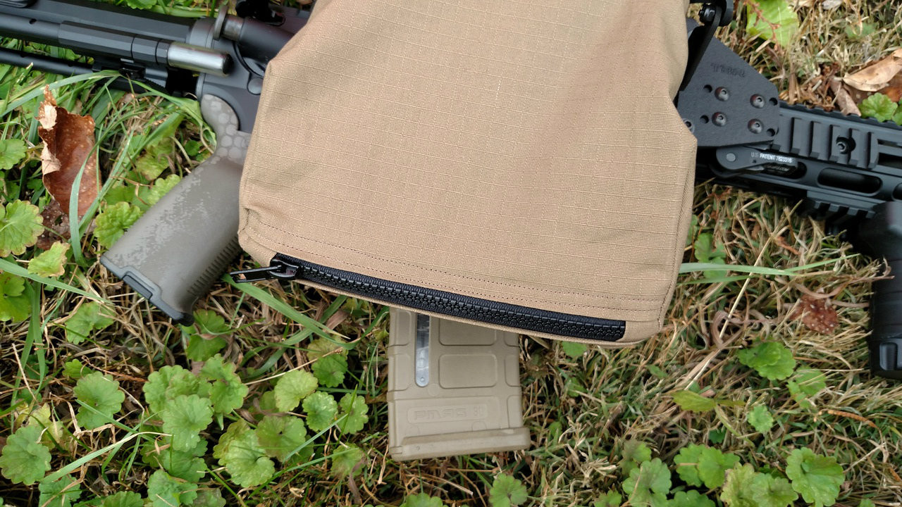 coyote color bag available now, shown next to magpul fde magazine.