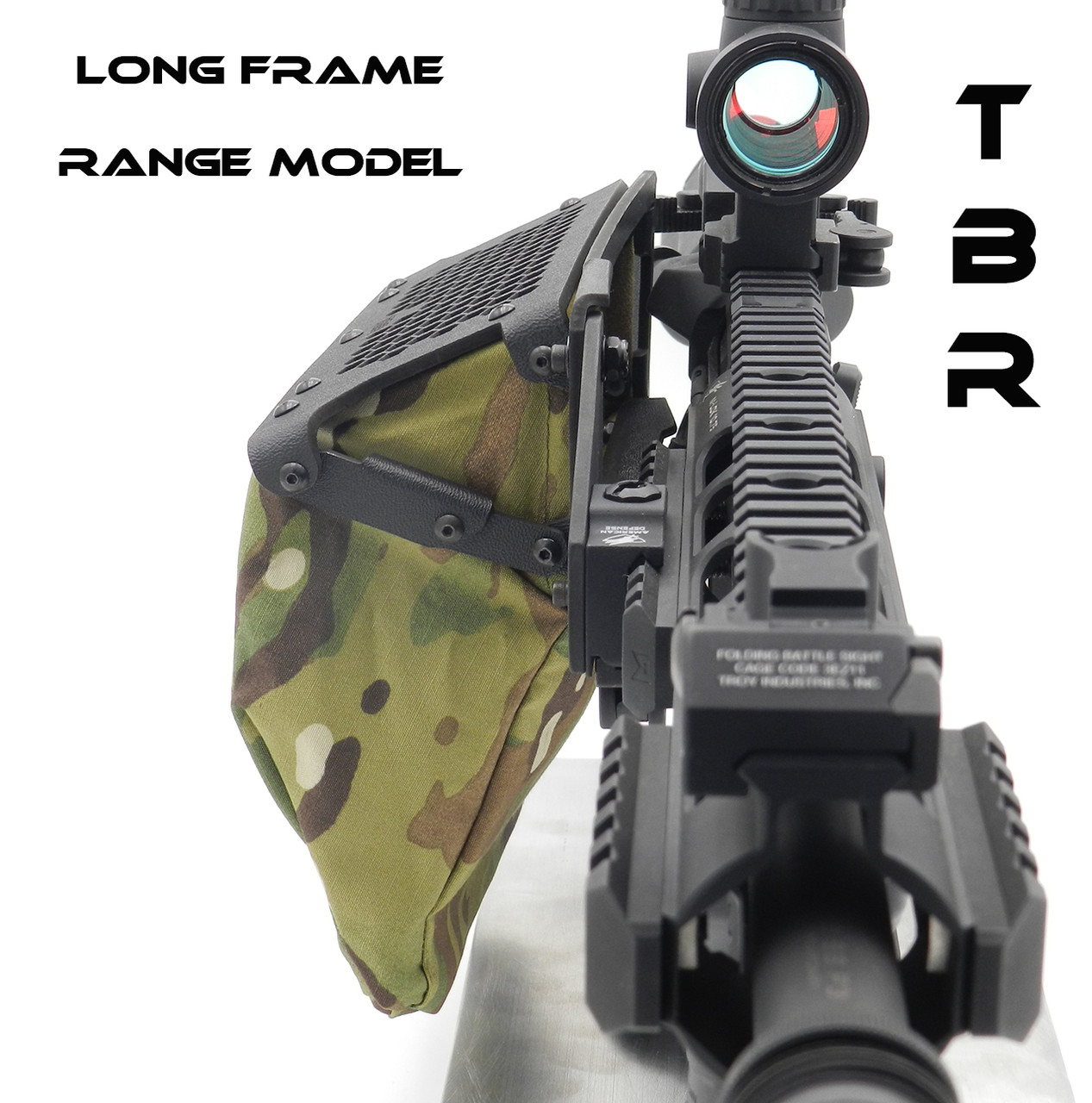 AR 15/AR 10 LONG FRAME Throw Lever quick detach mount brass catcher
