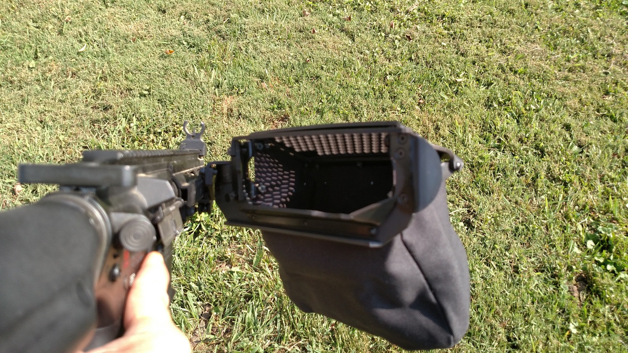 compatible with AR15/AR10 when installed as shown.