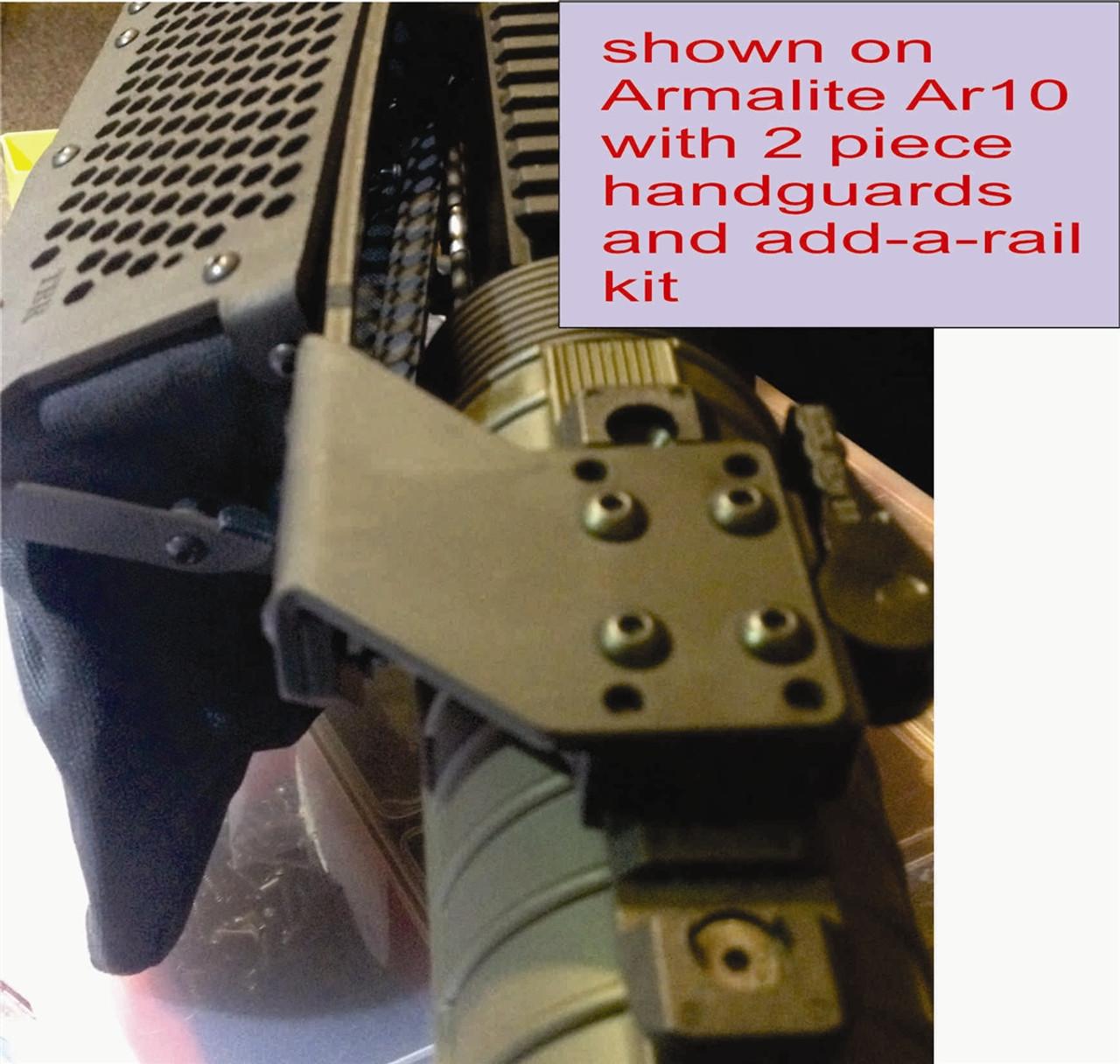 Top Rail Mounted Brass Catcher for AR15 & AR10 Rifles MKA 1919