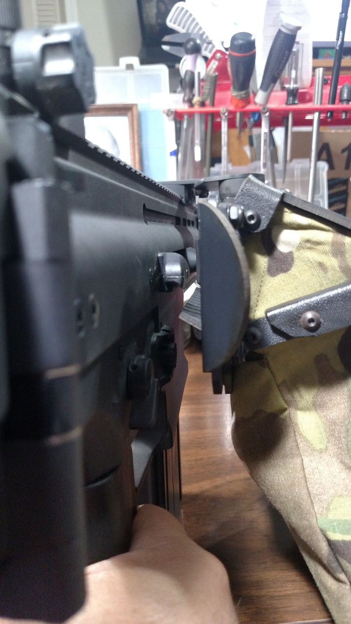 this model can also be used with SCAR 17 as shown.