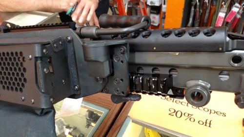 M249/MK46/MK48 low/wide rail brass catcher