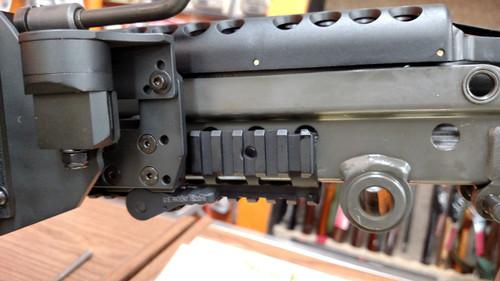 M249/MK46/MK48 mid/narrow rail brass catcher