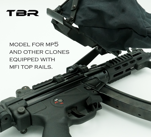 MP5 top mount brass catcher for MFI rails