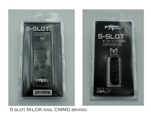 5 slot MLOK rail