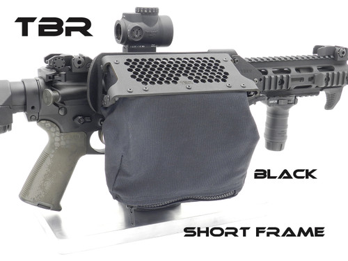 AR platform SHORT FRAME-THROW LEVER MOUNT brass catcher