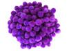 "100 Count - 1"" Purple Craft Poms"