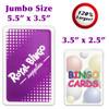 Jumbo Bingo Calling Cards