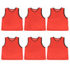 6-pack Adult Scrimmage Pinnies, Red