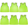 6-pack Adult Scrimmage Pinnies, Green