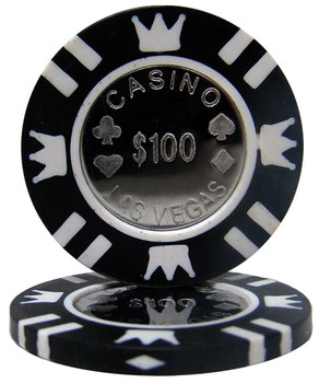 Coin Inlay 15 Gram - $100 Chip