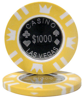 Coin Inlay 15 Gram - $1,000 Chip