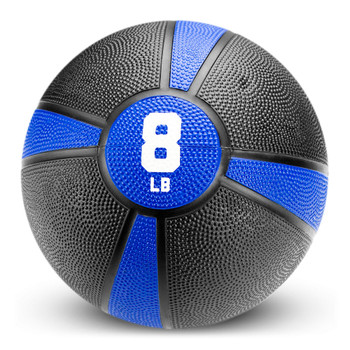 8lb Tuff Grip Rubber Medicine Ball