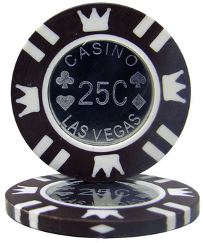 Coin Inlay 15 Gram - .25¢ (cent) Chip