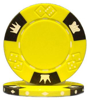 Crown & Dice 3 Tone 14 gram - Yellow