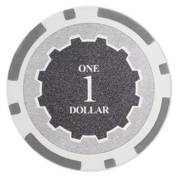 Eclipse 14 Gram Poker Chips - $1