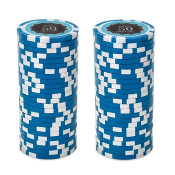 Eclipse 14 Gram Poker Chips - $50
