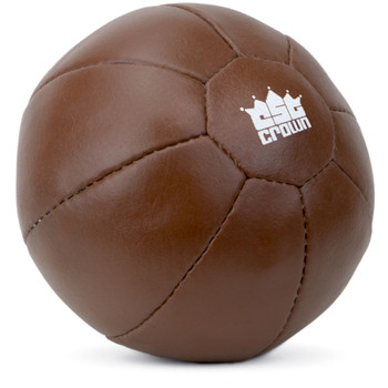 3 kg (6.6 lbs) Leather Medicine Ball
