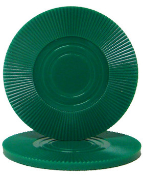 Green Interlocking Radial Chip