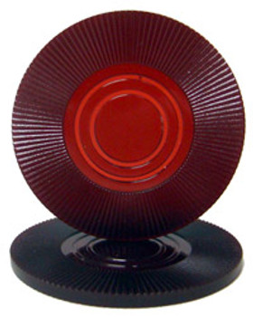 Maroon Interlocking Radial Chip