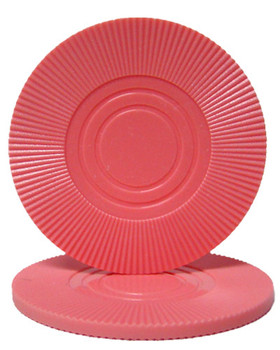Pink Interlocking Radial Chip