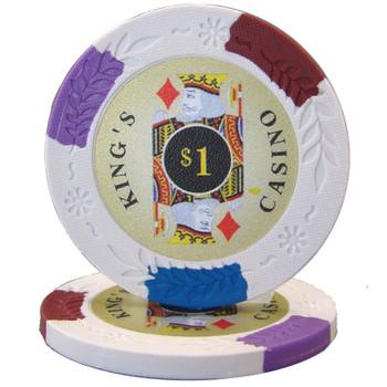 King's Casino 14 gram Pro Clay - $1