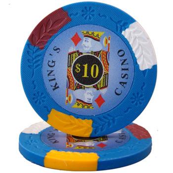 King's Casino 14 gram Pro Clay - $10