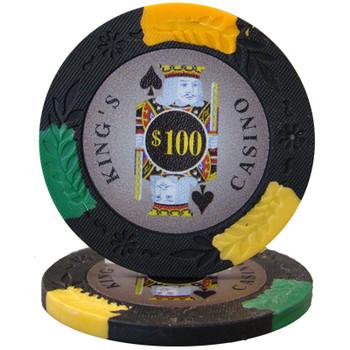King's Casino 14 gram Pro Clay - $100