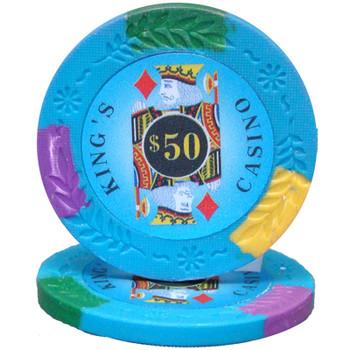 King's Casino 14 gram Pro Clay - $50