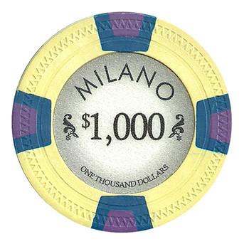 Milano 10 Gram Clay - $1000