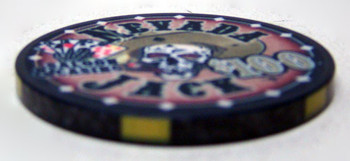 $100 Nevada Jack 10 Gram Ceramic Poker Chip