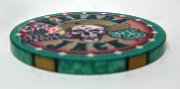 $25 Nevada Jack 10 Gram Ceramic Poker Chip