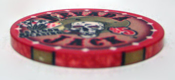 $5 Nevada Jack 10 Gram Ceramic Poker Chip
