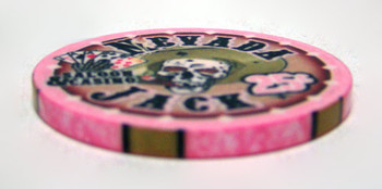 .25¢ (cent) Nevada Jack 10 Gram Ceramic Poker Chip