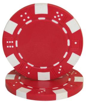 Striped Dice 11.5 gram - Red