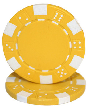 Striped Dice 11.5 gram - Yellow