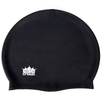 Silicone Swim Cap, Black