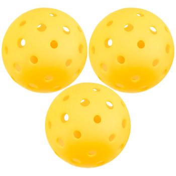 3-Pack of Pickleball Balls, Goldenrod Yellow