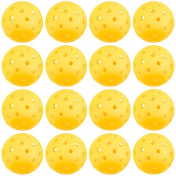 12-Pack of Pickleball Balls, Goldenrod Yellow